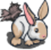 Feather Duster Rabbit