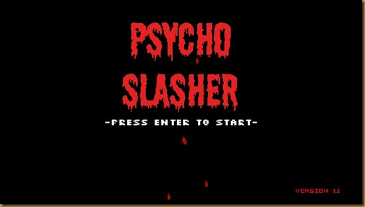 Psycho Slasherタイトル