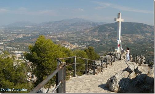 Mirador de la Cruz - Castillo de Jaén