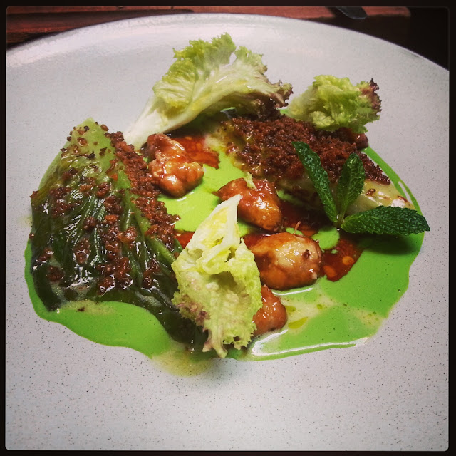 Sweetbreads croustillant with parsley