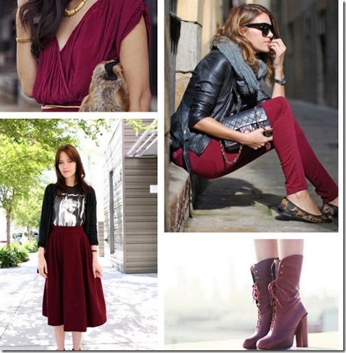 burgundy trend