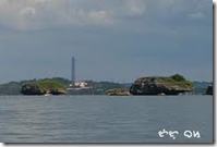 Lighthouse in Cape Bolinao Pangasinan Philippines