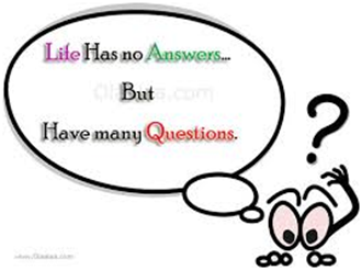 life has no answers