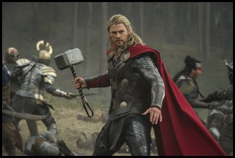 """Marvel's Thor: The Dark World""<br /><br />Thor (Chris Hemsworth)<br /><br />Ph: Jay Maidment<br /><br />© 2013 MVLFFLLC.  TM & © 2013 Marvel.  All Rights Reserved."