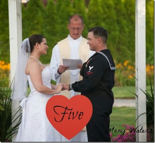 Many Waters Five Years Military Marriage
