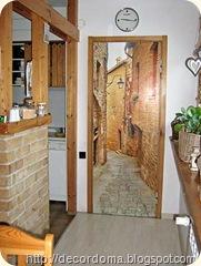 Необычные идеи декора дверей своими руками 2