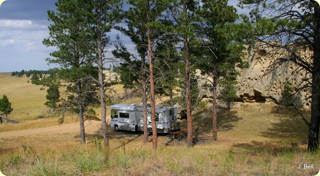Medicine Rock State Park, Montana