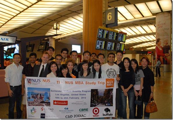 NUS Study trip LA 2012