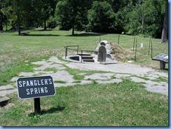 2724 Pennsylvania - Gettysburg, PA - Gettysburg National Military Park Auto Tour - Stop 13 Spangler's Spring
