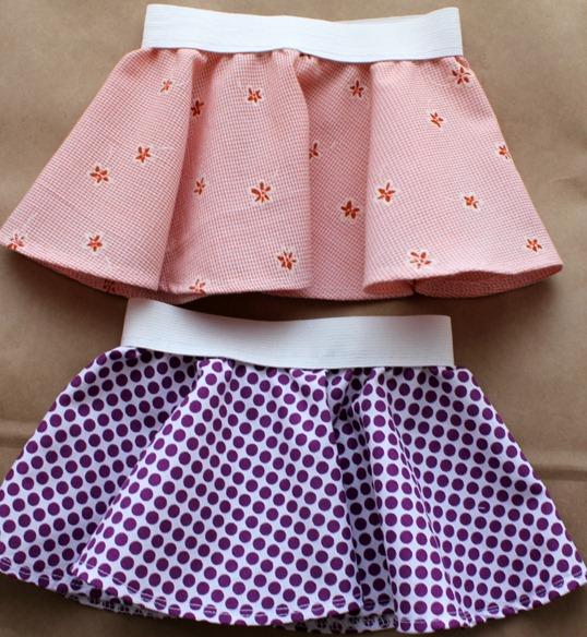 2 circle skirts