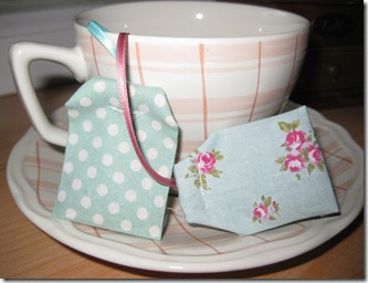 tea bags from Gitta
