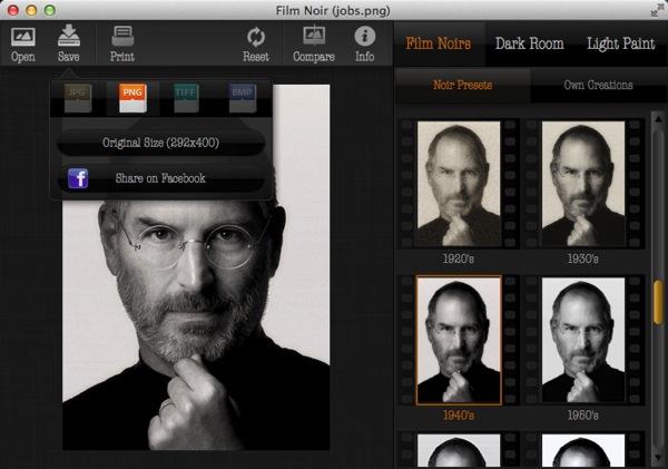 Mac app photography film noir3