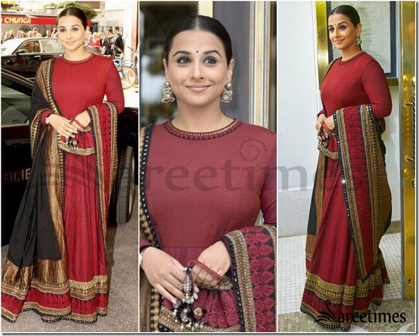 Vidya_Balan_Lehenga
