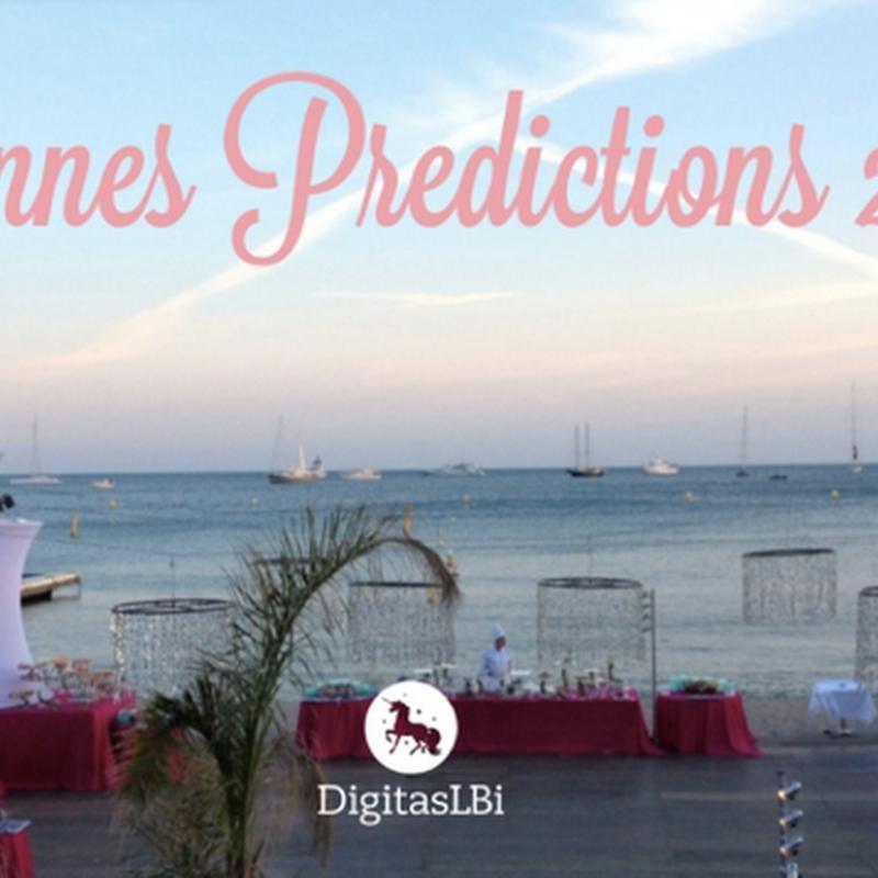 Predicciones para Cannes Lions