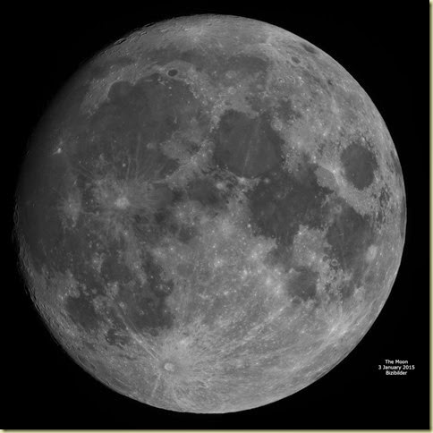 3 January 2015 Moon Mosaic