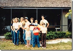Bell grandchildren c 1982