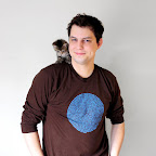 Rescued kitty Suki models the long sleeve version of the T with her human advocate!