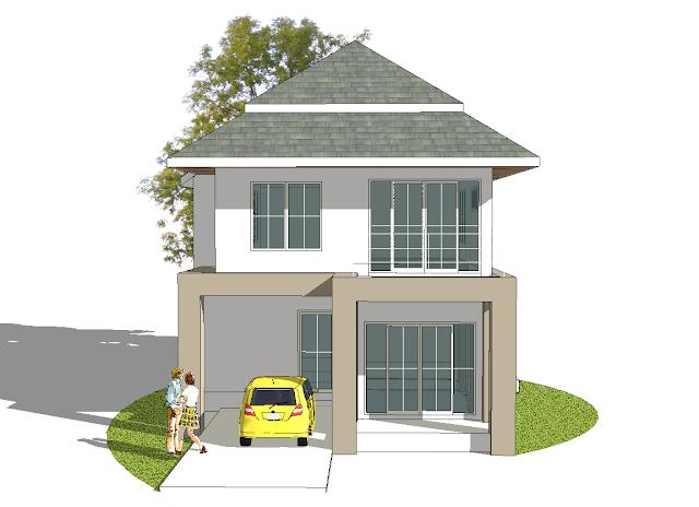file sketchup design home - Sketchup Home Design