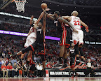 lebron james nba 130510 mia at chi 10 game 3 Heat Outlast Bulls in Physical Game 3 to Lead the Series 2 1
