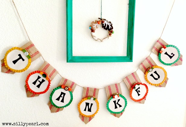 Thanksgiving Banner by The Silly Pearl