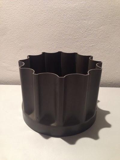 Enzo Mari for Danese Bambu vase front