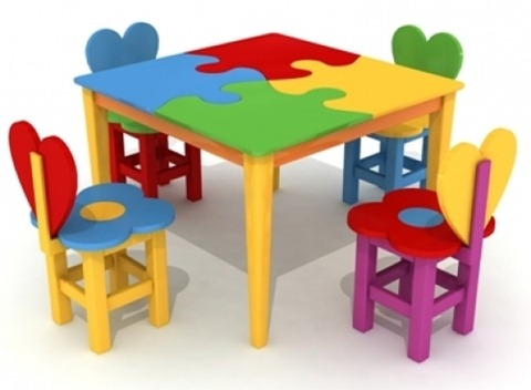 Kid's table color