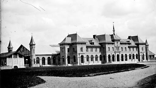 Uppsala cetralstation i början av 1900-talet