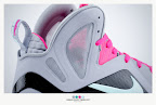 nike lebron 9 ps elite grey candy pink 9 21 sneakerbox LeBron 9 P.S. Elite Miami Vice Official Images & Release Date