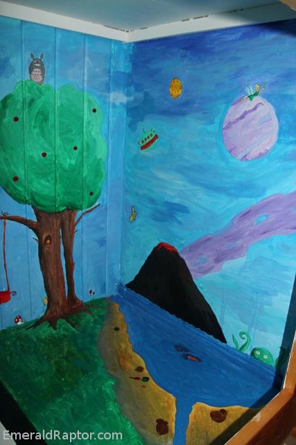 Totoro og Tingeling i skapet