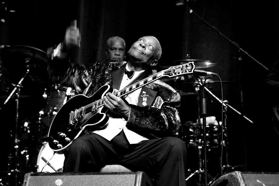 John Mayall (GB) & B.B. King (USA) @ Congress centre, Prague