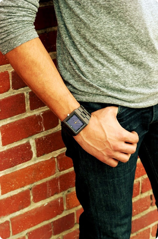 mens delmar blue JORD watch