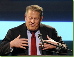 al gore all pumped up on his own hot air