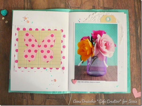 sizzix big shot - scrapbooking - fusing plastic bags - mini album - tutorial - by Anna Drai - cafecreativo (5)