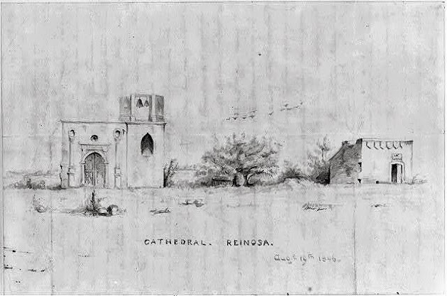 Cathedral. Reinosa. Aug. 10, 1846 Library of Congress.JPG