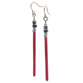 Red Lightsaber Earrings form Big Bad Toy Store