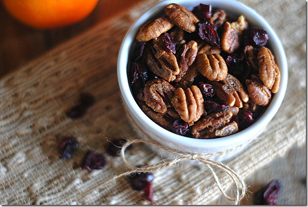 Orange Chipotle Spiced Pecan Mix