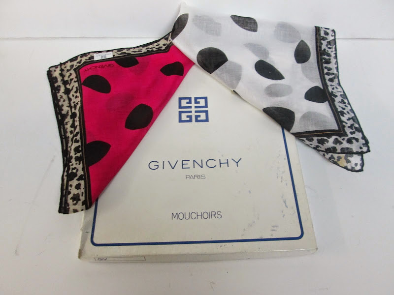 Givenchy Handkerchief  Pair