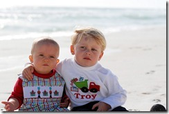 T and j on beach2