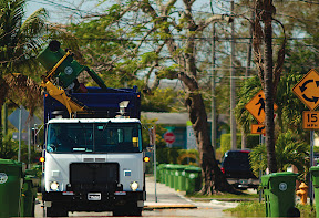 Parker Hannifin reports average fuel use reduction of 43%, with 99% uptime, for Autocar E3 refuse trucks with the Parker RunWise hydraulic hybrid drivetrain after more than a year of service in south Florida.