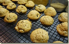 christmas pudding mini muffins4