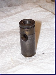 upright gear shaft bushing