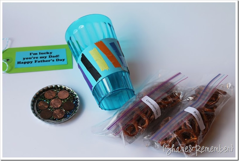 Father's Day Cup & Penny Coaster Gift