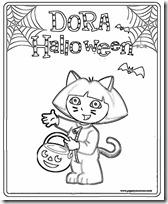 dora halloween jugarycolorear (9)