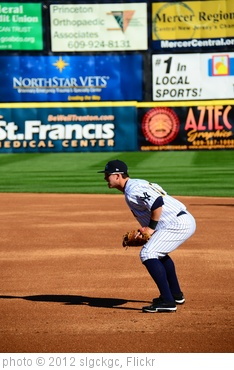 'Tyler Austin Playing First Base' photo (c) 2012, slgckgc - license: http://creativecommons.org/licenses/by/2.0/