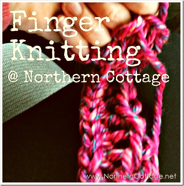 northern cottage finger knitting