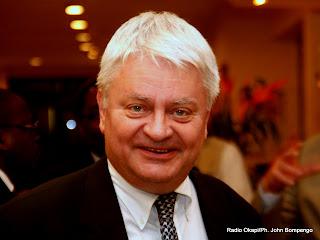 Hervé Ladsous, secrétaire général adjoint chargé du département du maintien de la paix à l'Onu le 24/01/2012 à Kinshasa. Radio Okapi/ Ph. John Bompengo