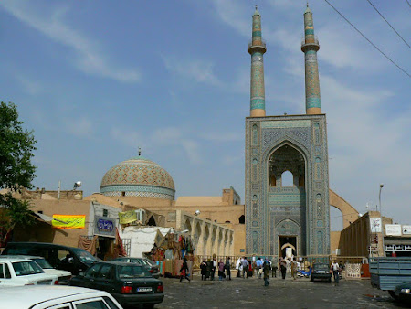 Things to see in Yazd: The mosque