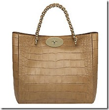 Mulberry Cecily Croc Print Tote