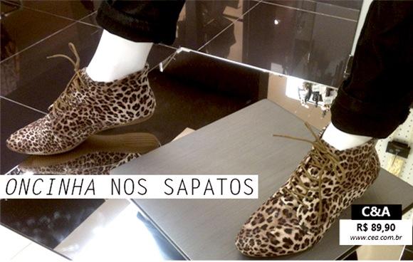 sapatos oncinha moda