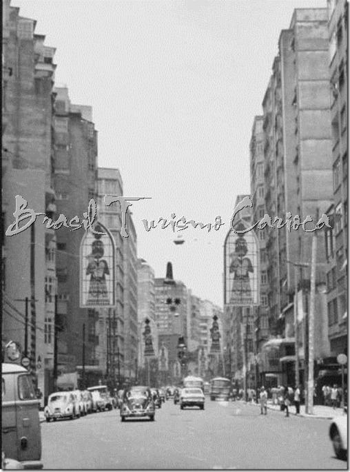 Rua Tonelero com rua Siqueira Campos-anos 60 Bairro Peixoto(em Copacabana)